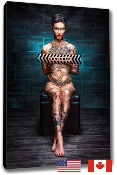 Tattoo, Clamps, Tied Up, USA