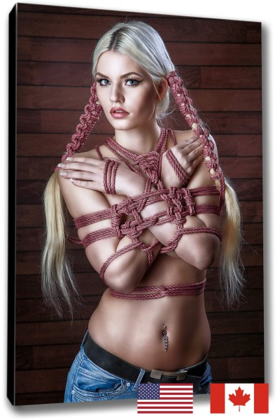 Blonde Hair Bondage, USA