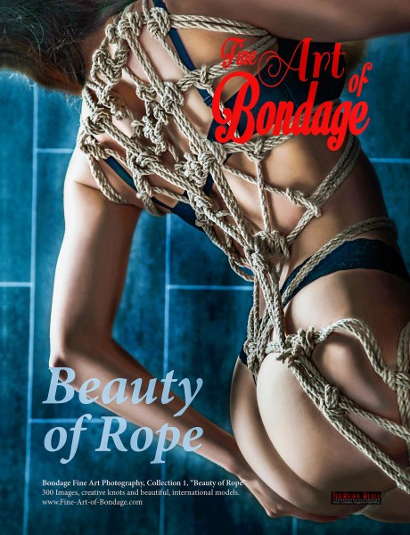 Fine Art of Bondage - Beauty of Rope - Hardcover - Title