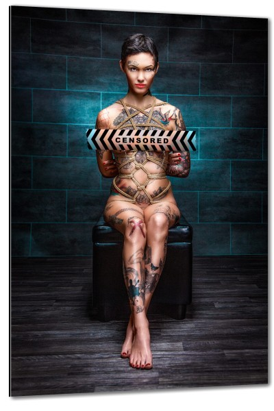 Tattoo, Clamps, Tied Up