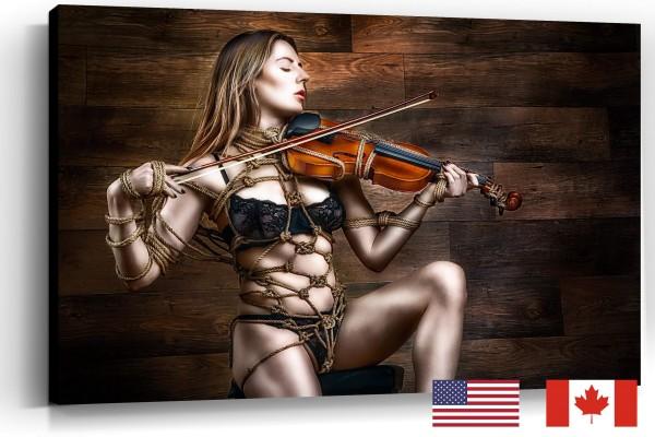Tied Violin, Samantha Bentley, USA
