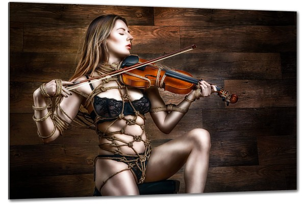 Tied Violin, Samantha Bentley