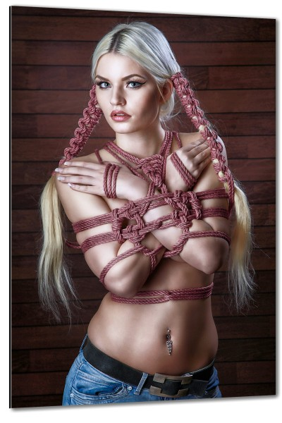 Blonde Hair Bondage